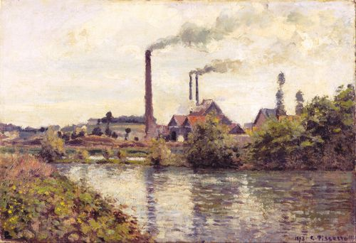 Pissarro - The Factory at Pontoise