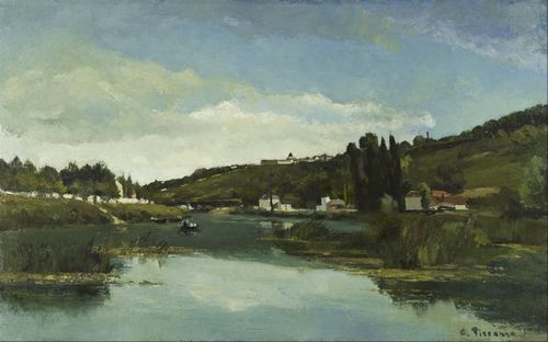 Pissarro - The Marne at Chennevieres