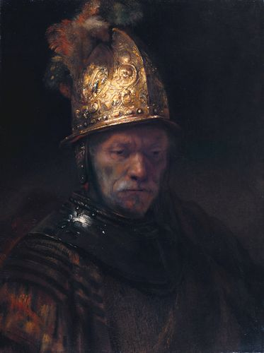Rembrandt - Man with the golden helmet