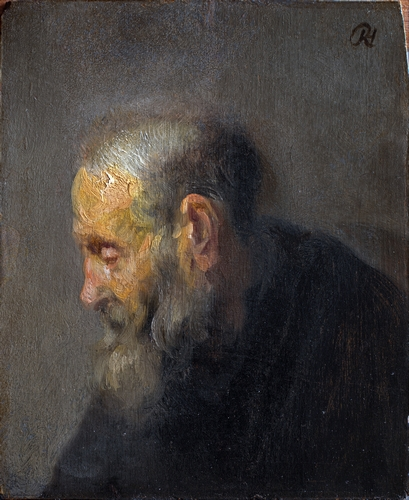Rembrandt - Portrait of an old man