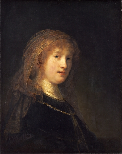Rembrandt - Saskia, wife of the artist