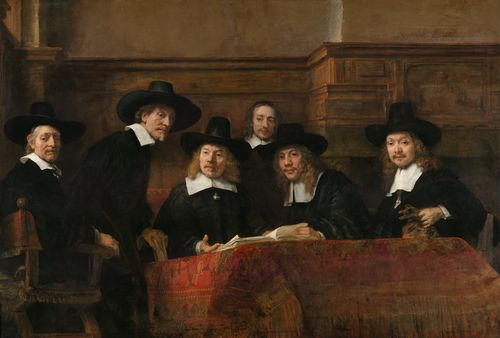 Rembrandt - The Amsterdam Drapers