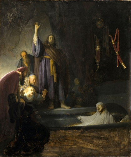 Rembrandt - The Raising of Lazarus