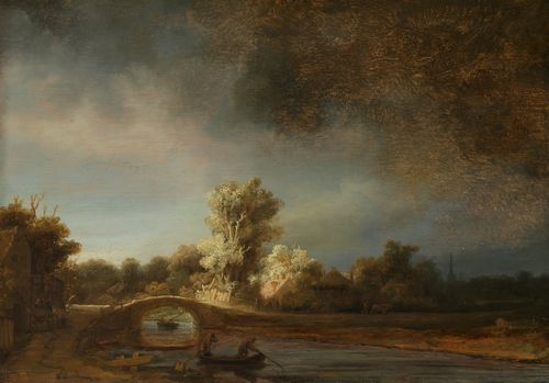 Rembrandt - The Stone Bridge