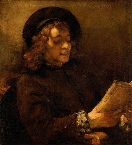Rembrandt - Titus, the artists son, reading