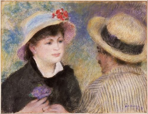 Renoir - Boating Couple