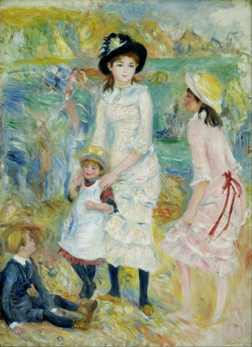 Renoir - Children on the Seashore, Guernsey