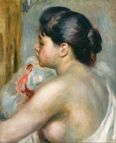 Renoir - Dark haired woman