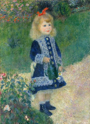 Renoir - Girl with a watering can