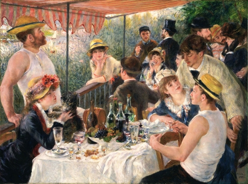 Renoir - Luncheon at the boating party