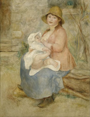 Renoir - Mother and Child 2