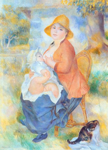 Renoir - Mother and child