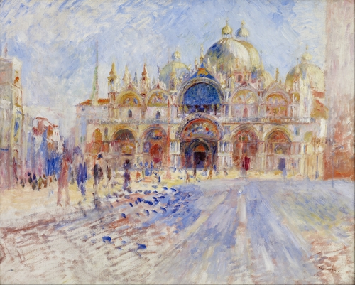 Renoir - The Piazza San Marco, Venice