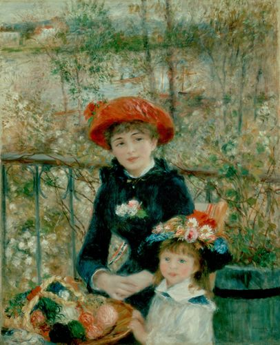 Renoir - Two sisters on the terrace