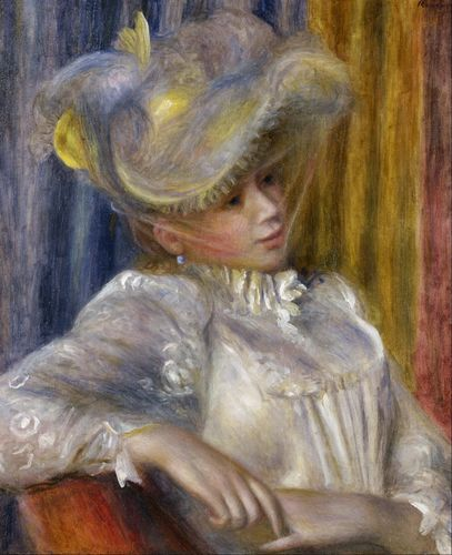 Renoir - Woman with a hat