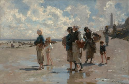 Sargent - Fishing for Oysters at Cancale