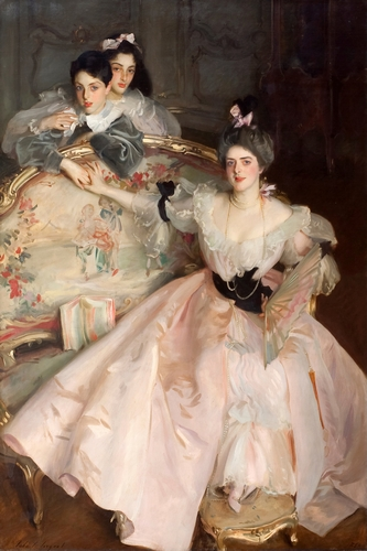 Sargent - Mrs Carl Meyer and her Children