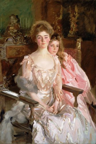 Sargent - Mrs. Fiske Warren and daughter