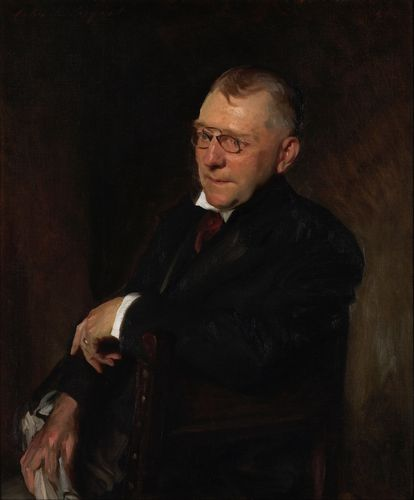 Sargent - Portrait of James Whitcomb Riley