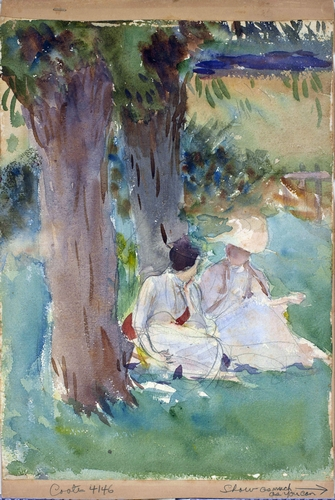 Sargent - Under the willows