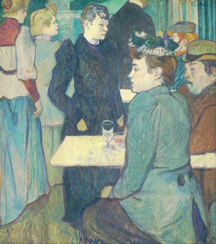 Toulouse-Lautrec - A Corner of the Moulin de la Galette