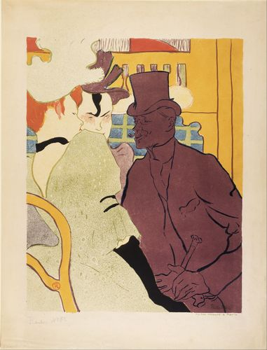 Toulouse-Lautrec - An Englishman at the Moulin Rouge