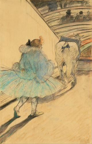 Toulouse-Lautrec - At the Circus