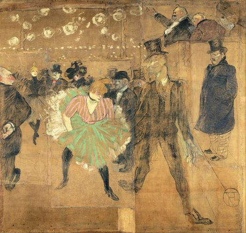 Toulouse-Lautrec - Ball at Moulin Rouge