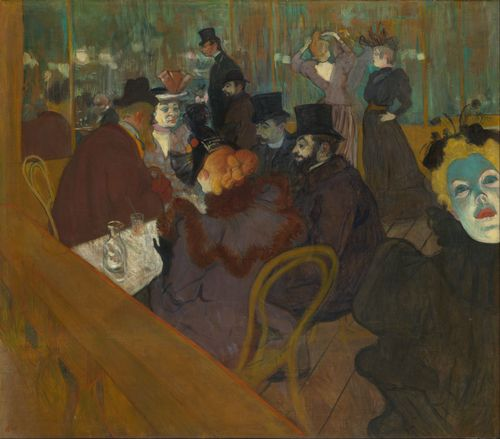 Toulouse-Lautrec - In the Moulin Rouge
