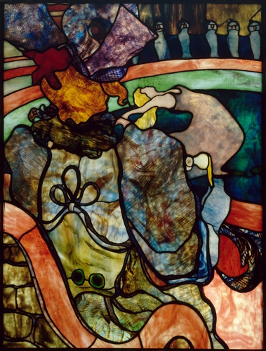 Toulouse-Lautrec - Stained glass