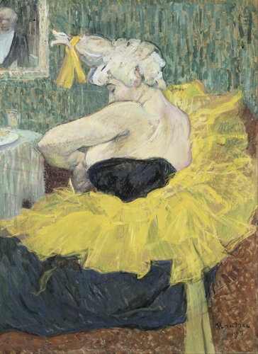 Toulouse-Lautrec - The Clown Cha-U-Kao