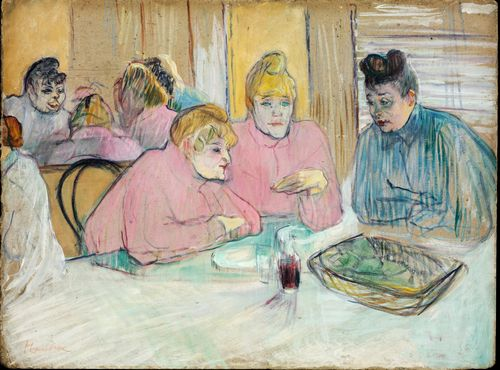 Toulouse-Lautrec - The Ladies in the Dining Room