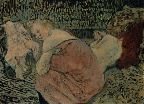 Toulouse-Lautrec - Two Friends