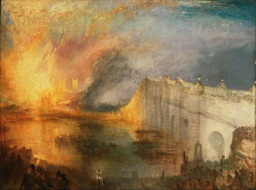 Turner - Burning of the House of Lords