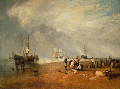 Turner - Fish Market at Hastings
