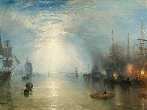 Turner - Heaving Coals by Moonlight