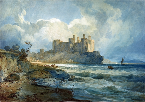 Turner - Conway castle - Wales