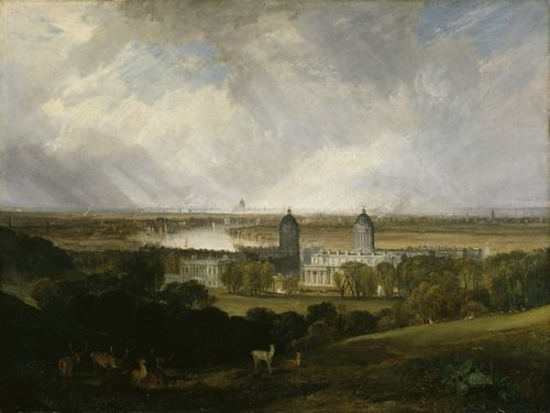 Turner - London from Greenwich Park