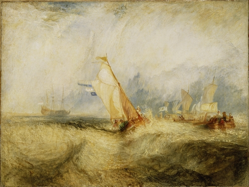 Turner - Ships at Sea