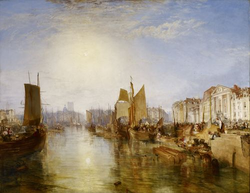 Turner - The Harbor of Dieppe