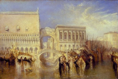 Turner - Venice, the Bridge of Sighs