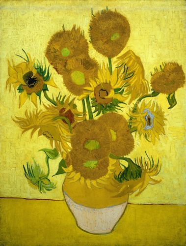 Van Gogh - Another vase of sunflowers