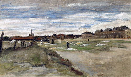 Van Gogh - Bleaching Ground at Scheveningen
