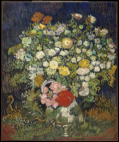Van Gogh - Bouquet of flowers in a vase
