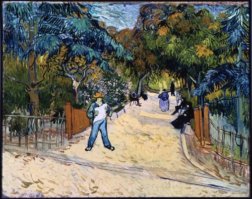 Van Gogh - Entrance to the Public Gardens in Arles