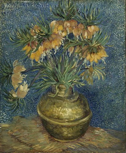 Van Gogh - Fritillaries in a Copper Vase