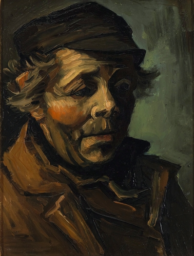 Van Gogh - Head of a peasant