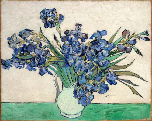 Van Gogh - Irises in a vase
