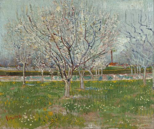 Van Gogh - Orchard in Blossom (Plum Trees)