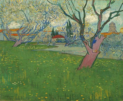 Van Gogh - Orchards in blossom, view of Arles